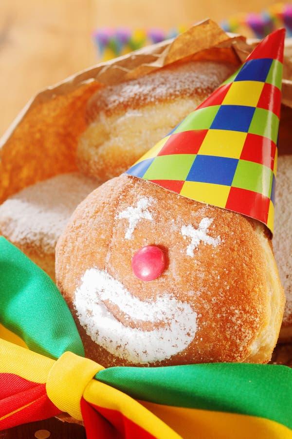 Creatief kleurrijk Carnaval-voedsel royalty-vrije stock afbeelding