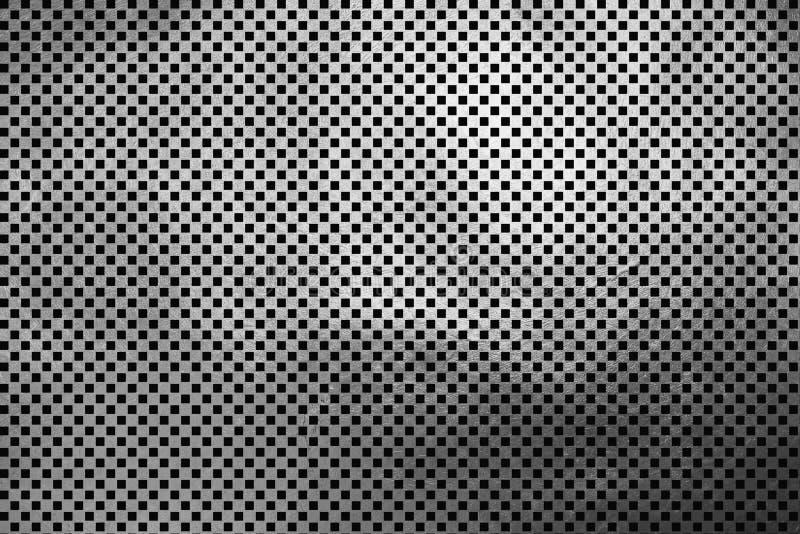 Creatief modern digitaal luxueus shinning geruit vierkant/van het de textuurpatroon van het kubusnet de zilveren abstracte achter vector illustratie