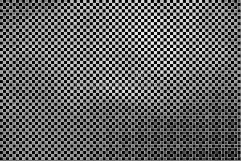 Creatief modern digitaal luxueus shinning geruit vierkant/van het de textuurpatroon van het kubusnet de zilveren abstracte achter royalty-vrije illustratie