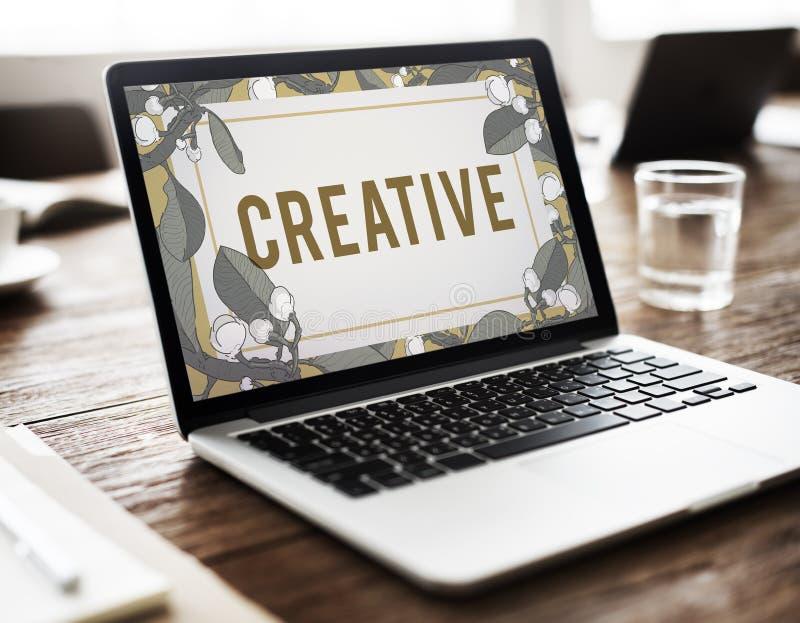 Creatief van het de Inspiratieblad van de Ideeënverbeelding de Aardconcept stock foto's