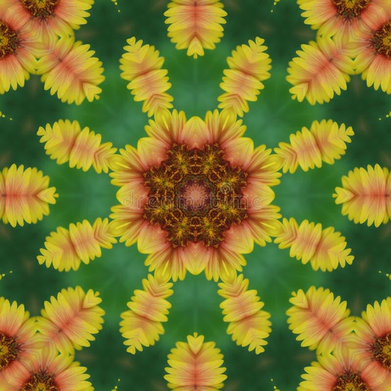 Creatief voor achtergrond Het bloemenornament van de fantasiestijl Voor stof, druk, de Perzische hulp van tapijtornamenten Beëind royalty-vrije stock foto's