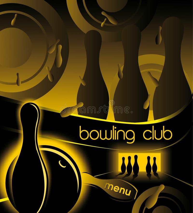 Creatieve achtergrond voor reclame en menukegelen club royalty-vrije stock foto