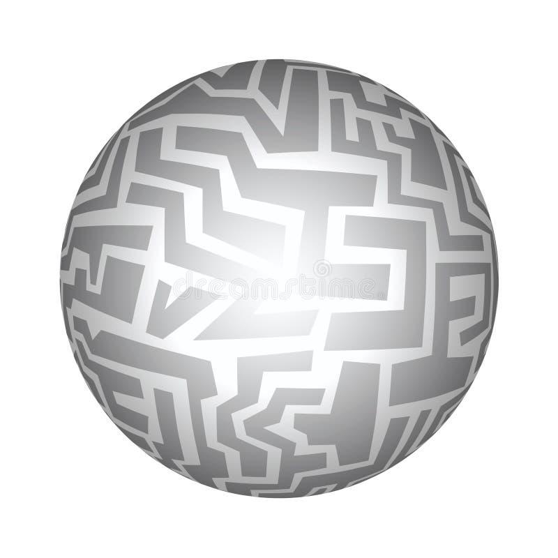 Creatieve bal stock illustratie