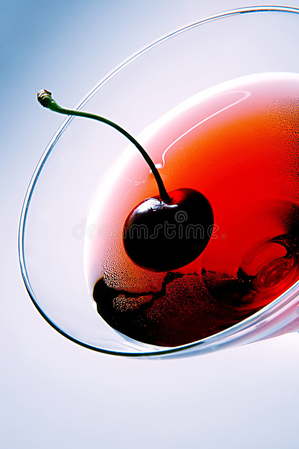 Creatieve cocktail royalty-vrije stock afbeelding