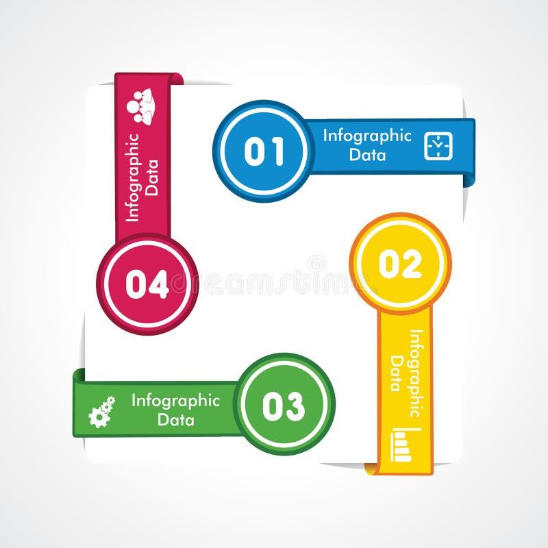 Creatieve informatie-grafisch vector illustratie