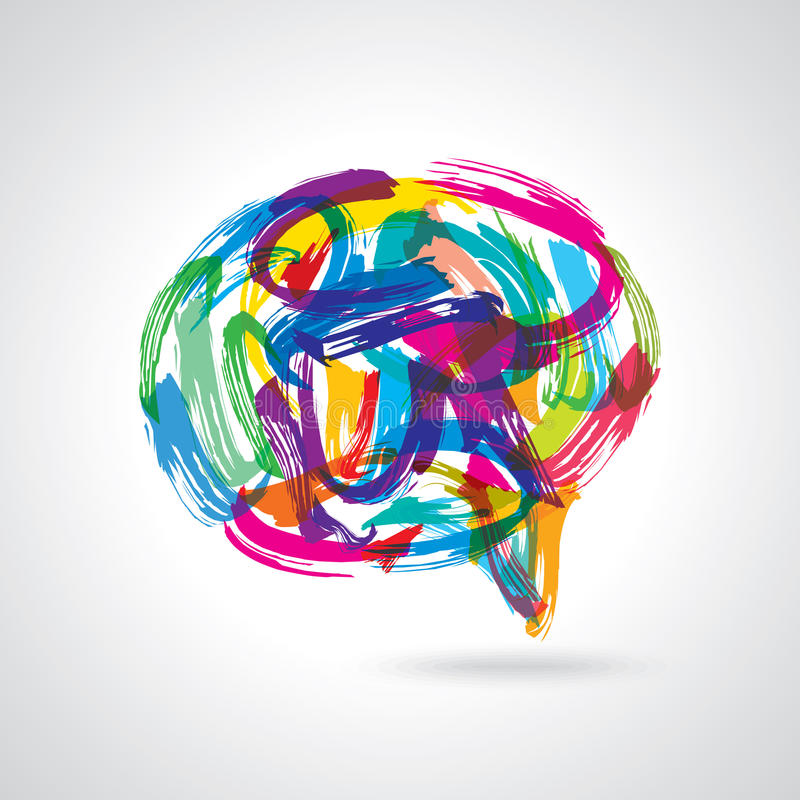 Creatieve kleurrijke toespraakbellen vector illustratie