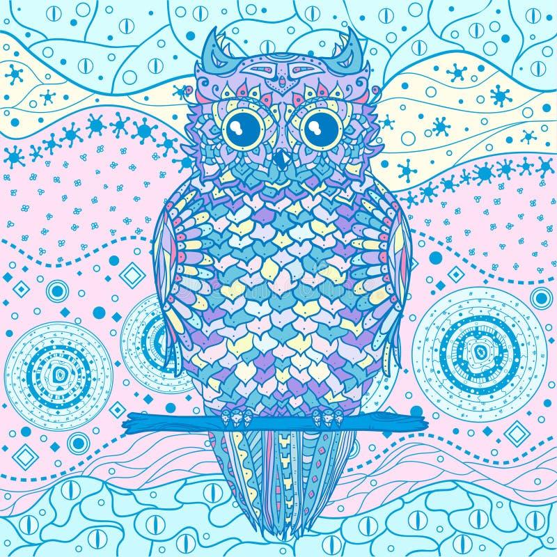 Creatieve kunst Illustratie royalty-vrije illustratie