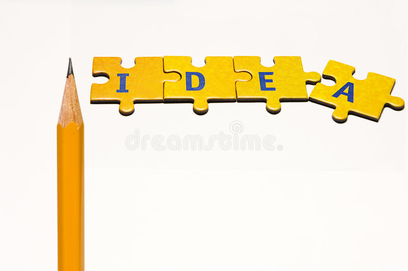 Creatieve mening stock foto's