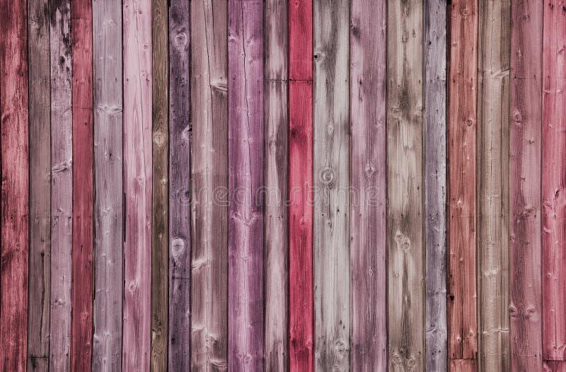 Creatieve multicoloured Houten Achtergrond stock foto's