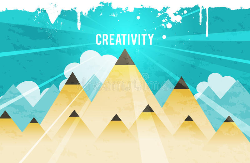 Creatieve Piek royalty-vrije illustratie