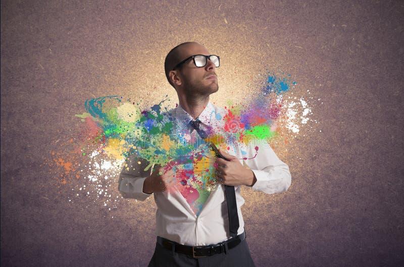 Creatieve zaken stock foto's