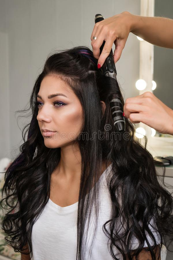 Creating hairstyle stock photos