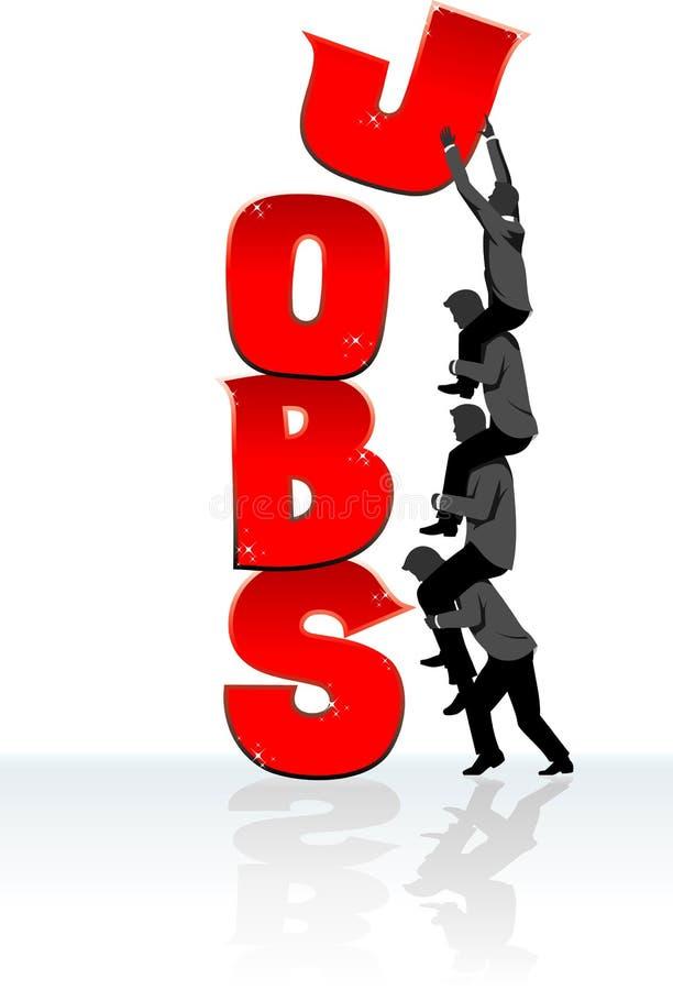 Creating Jobs vector illustration