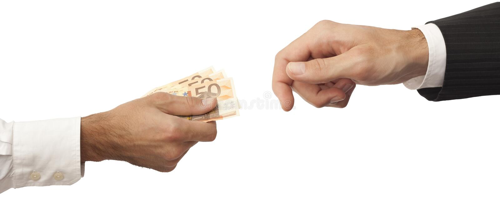 Creation Of The Business World Stock Image