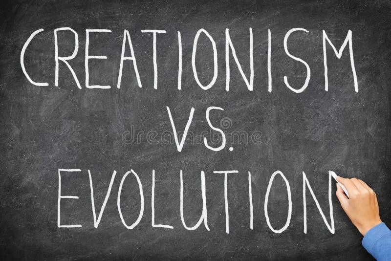 Download Creationism vs. Evolution stock image. Image of education - 21805429