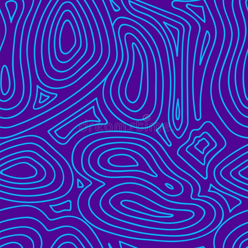 Creative abstract geometric background with line. purple and blue vector background. royalty free illustration
