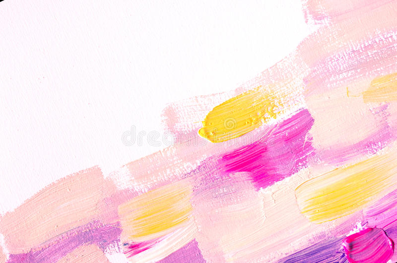 Creative abstract hand painted background, wallpaper, texture. Abstract composition for design elements. Close-up fragment of acry. Lic painting on canvas with royalty free illustration