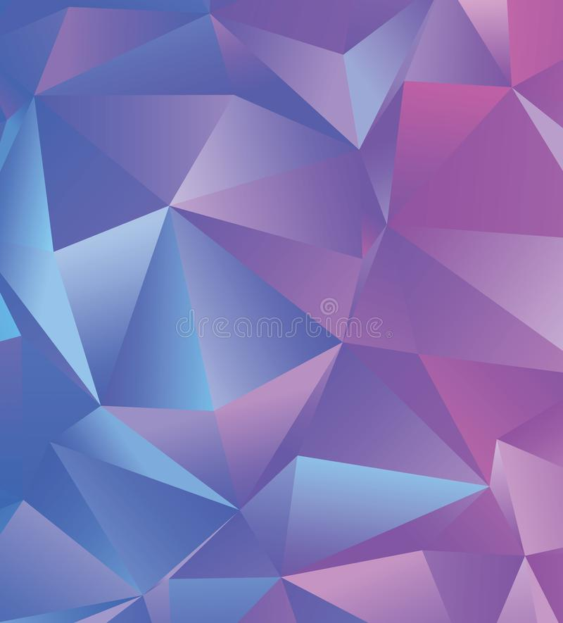 Creative abstract polygonal background. Vector clip art with triangles. Graphic resource for your design works. Creative abstract vector colorful background vector illustration