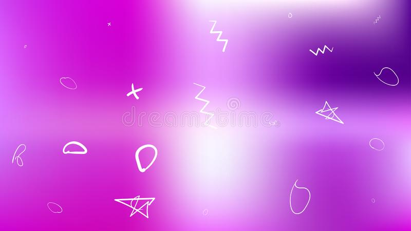 Creative abstract space background picture smooth. royalty free illustration