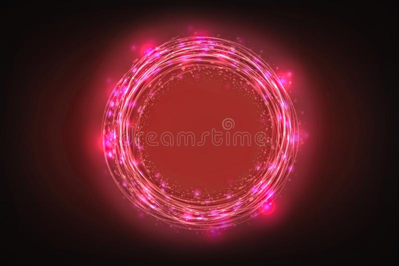 Creative abstract technology background, Innovative, Idea and futuristic thinking concept. Creative abstract technology background, Innovative, Idea and vector illustration