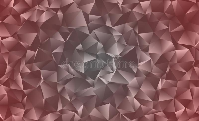 Creative abstract polygonal background. Vector clip art with triangles. Graphic resource for your design works. Creative abstract vector colorful background stock illustration