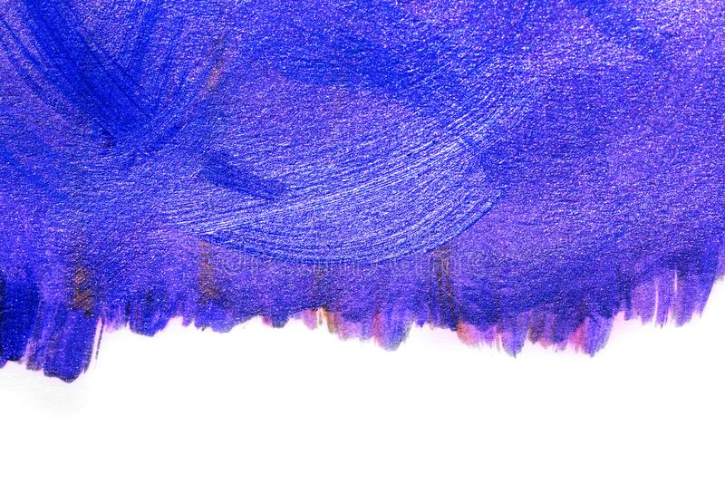 Creative art background hand drawn acrylic painting. Closeup shot of brushstrokes colorful texture acrylic paint on canvas. Modern contemporary art. Abstract stock photography