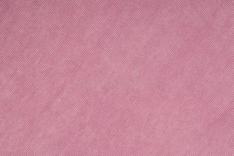 Lilac corduroy fabric stock photos