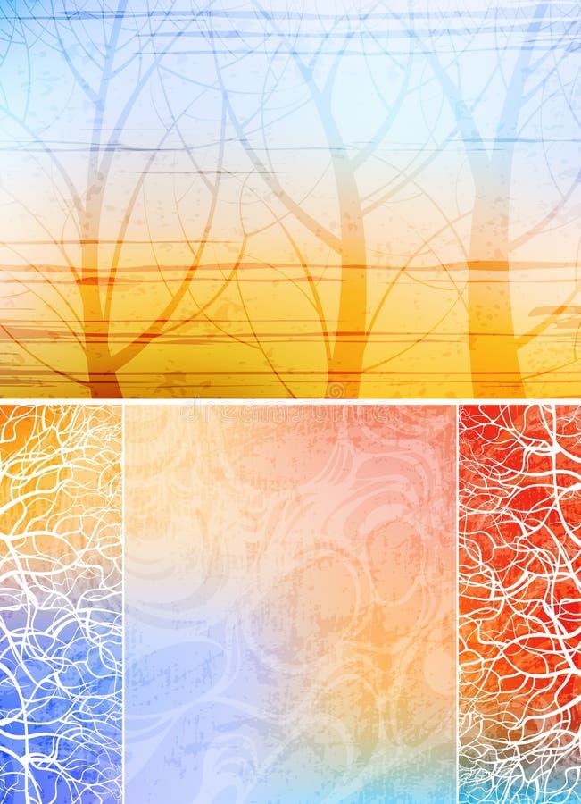 Creative backgrounds vector illustration
