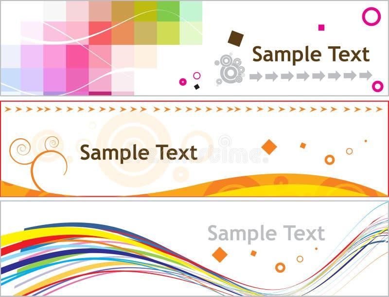 Creative banner vector illustration
