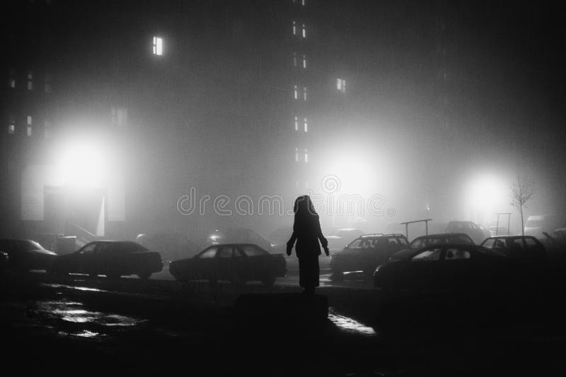 Creative Black And White Photography Stock Photo Image Of Mood Danger 104922080