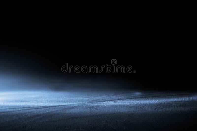 Creative blurry outdoor asphalt background with mist. Light high speed vector illustration