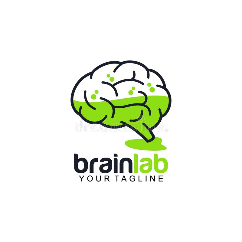 Download Creative Brain Logo Design Vector Art Stock Illustration