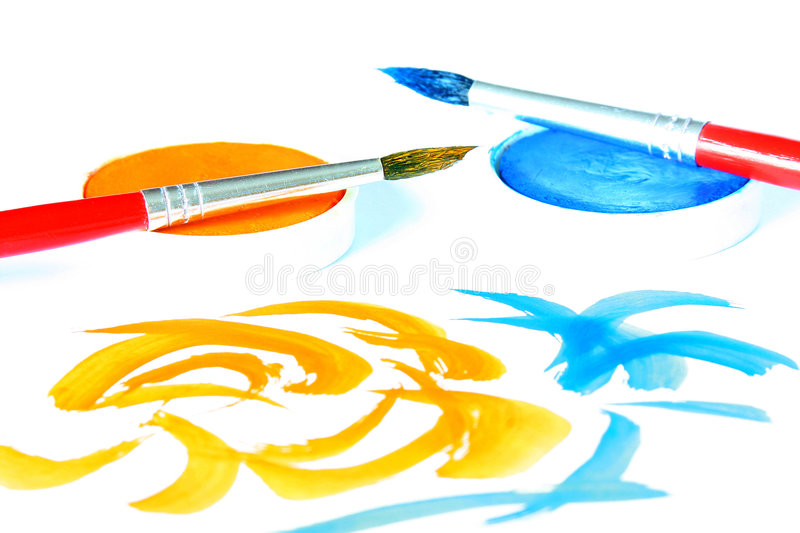 Download Creative - brush & color stock illustration. Image of empty - 775288