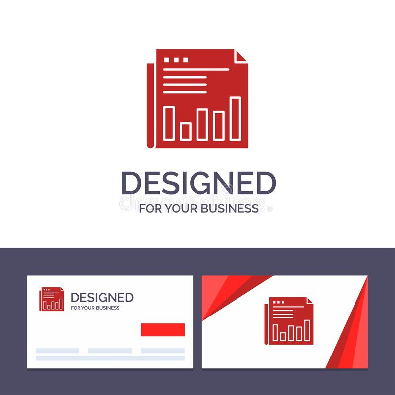 Creative Business Card and Logo template Newspaper, Business, Financial, Market, News, Paper, Times Vector Illustration vector illustration