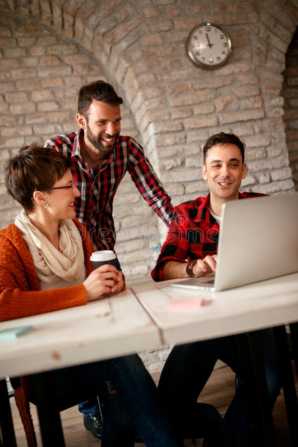 Creative business designers working royalty free stock images