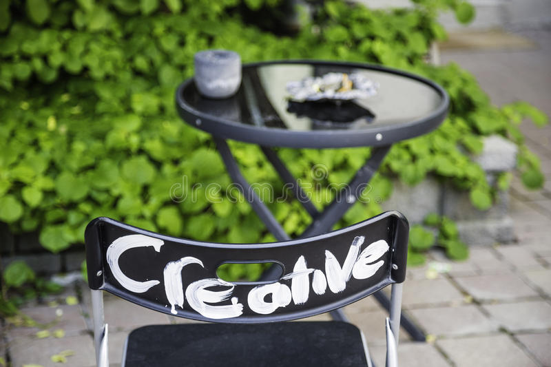 Creative Chair royalty free stock photo