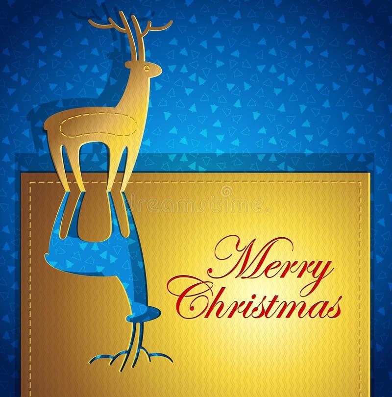 Creative Christmas greeting card