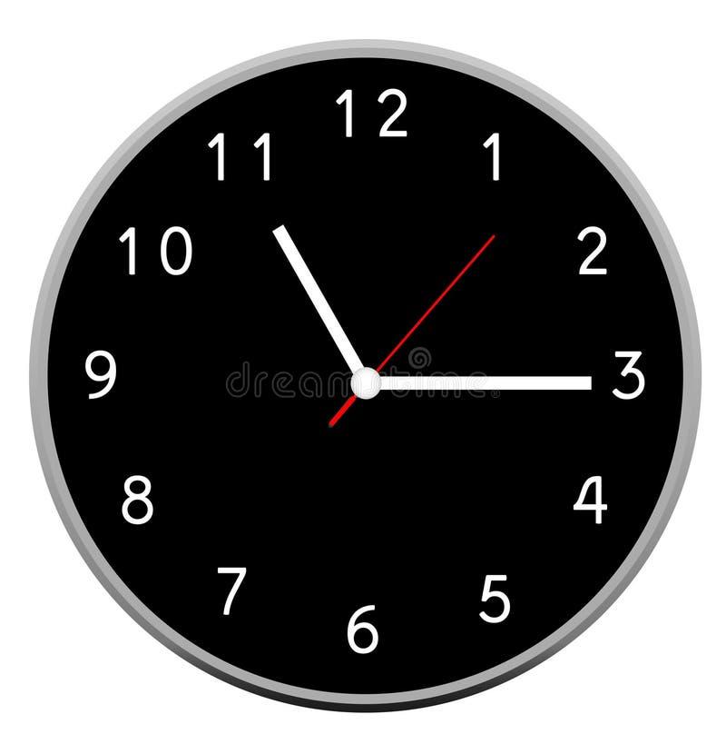 Creative clock face design. stock photos