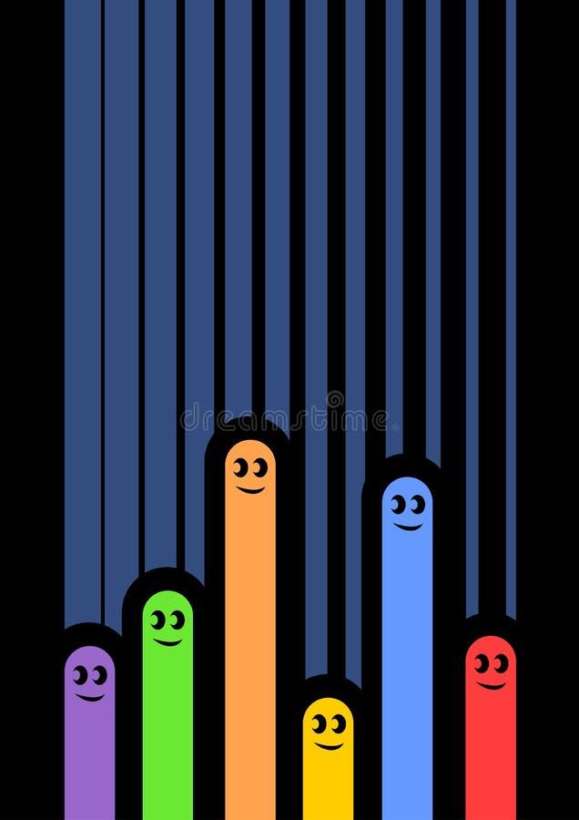 Creative Color Art Puppets Stock Photos