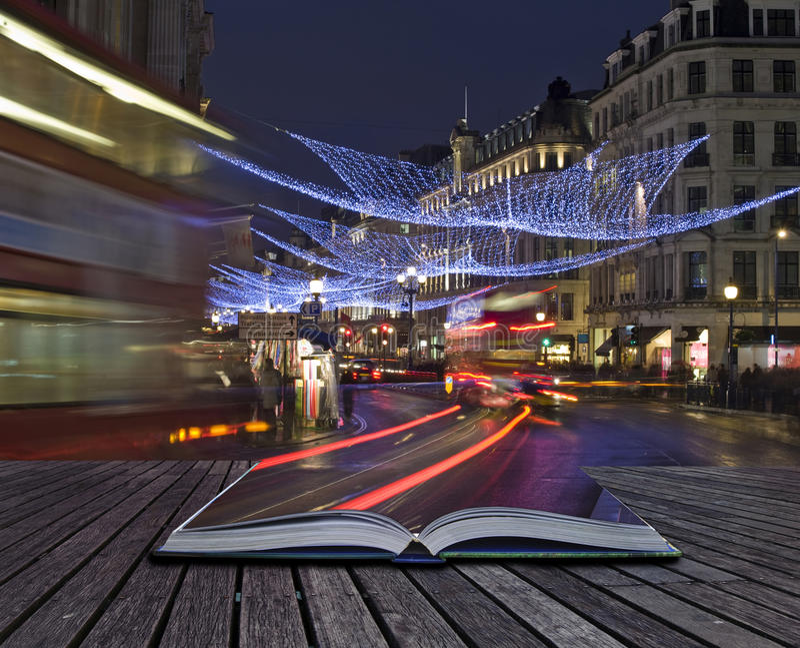 Download Creative Concept Idea Of London Christmas Lights Stock Photo - Image: 20776872