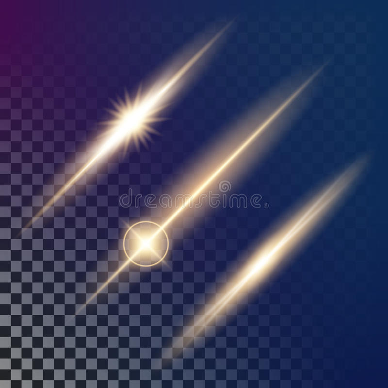 Creative concept Vector set of glow light effect stars bursts with sparkles on black background. For. Illustration template art design, banner for Christmas vector illustration
