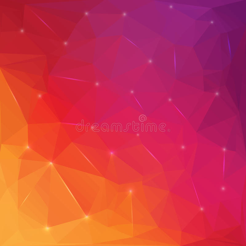 Creative concept vector triangle abstract background with icon for Web and Mobile Applications isolated on background vector illustration
