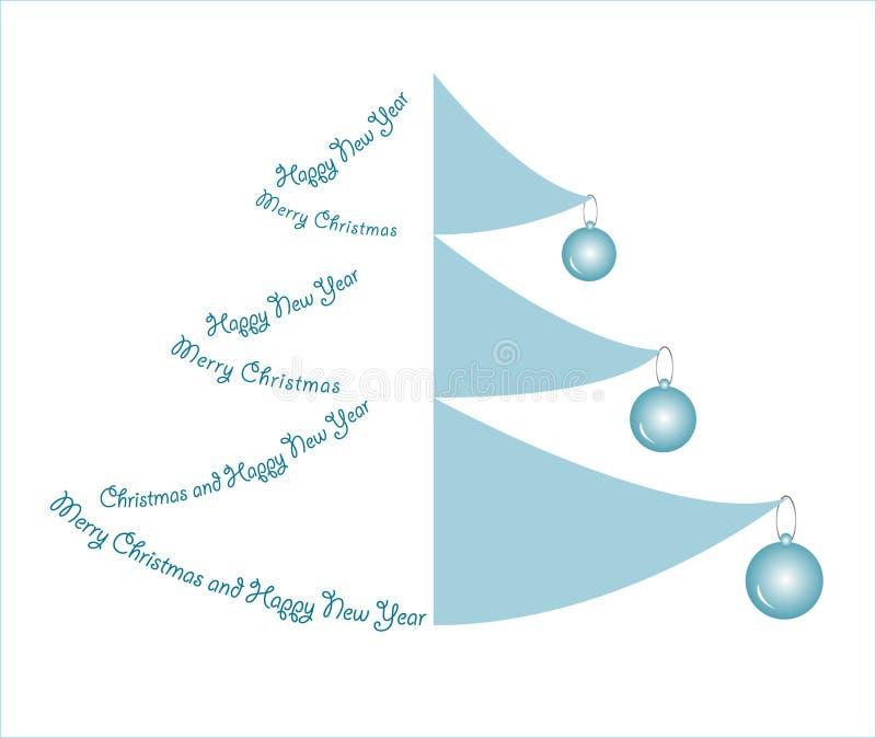 Creative design Christmas tree stock photography
