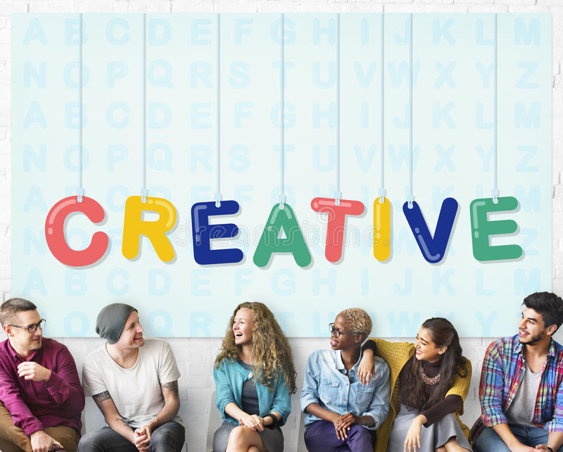 Creative Design Ideas Creativity Imagination Innovation Concept royalty free stock image