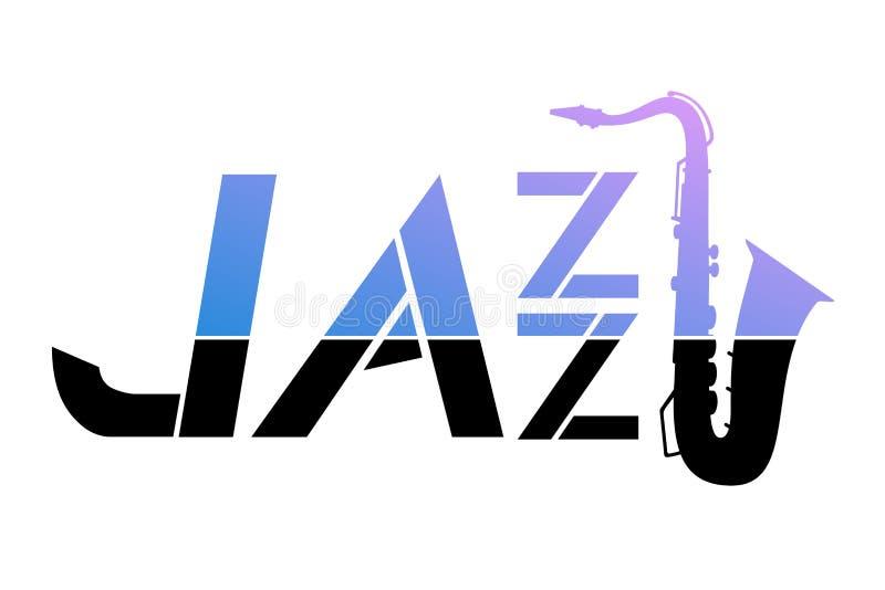 Jazz icon. Creative design of jazz icon stock illustration