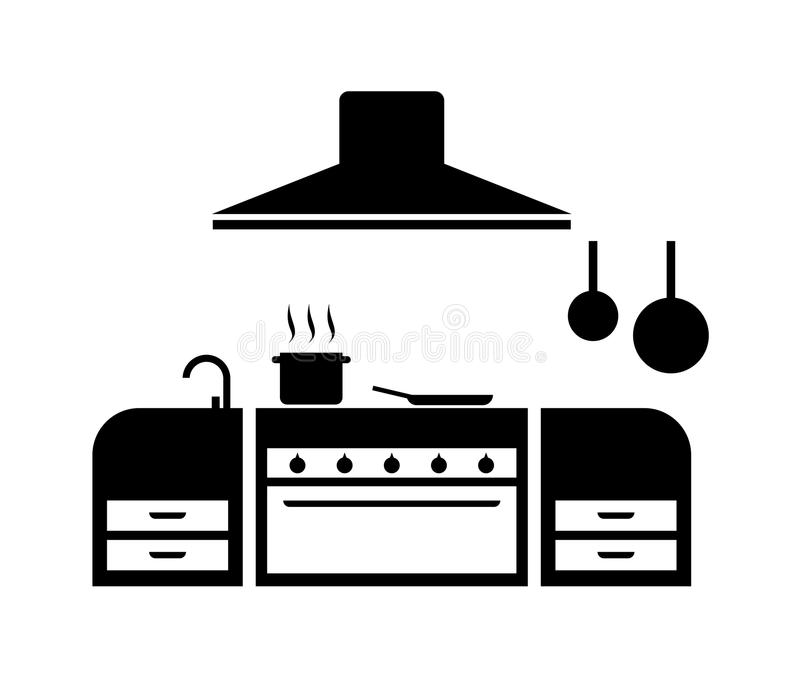 Kitchen Icon Stock Vector Illustration Of Home Appliance 107543513