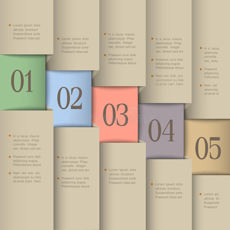 Creative design template stock illustration
