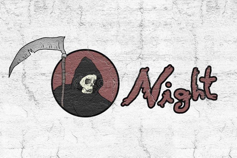 Terror symbol. Creative design of Terror symbol stock illustration