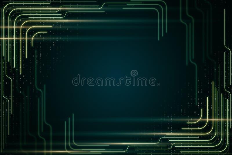 Creative digital backdrop vector illustration