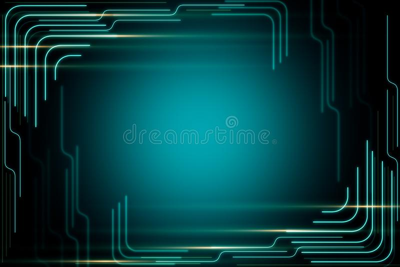 Creative digital background vector illustration